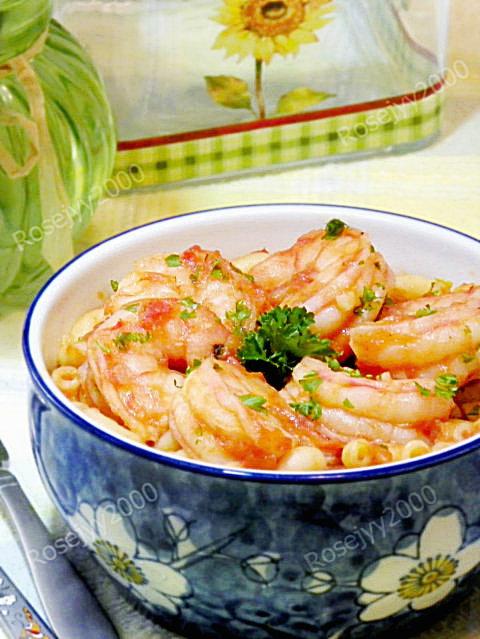 番茄酱汁虾仁_图1-3