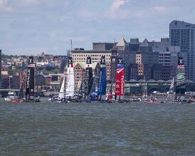 美洲杯帆船比赛