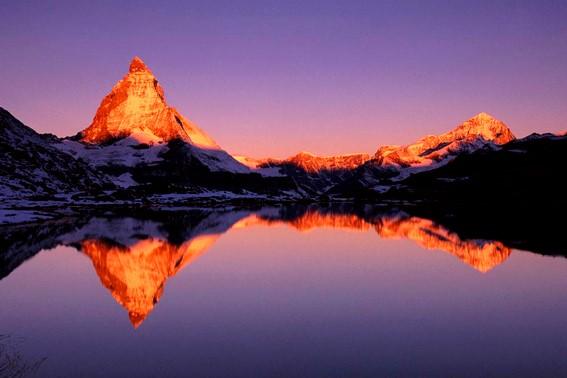2015游记(4)环游瑞士 - 马特洪峰与冰川列车_图1-4