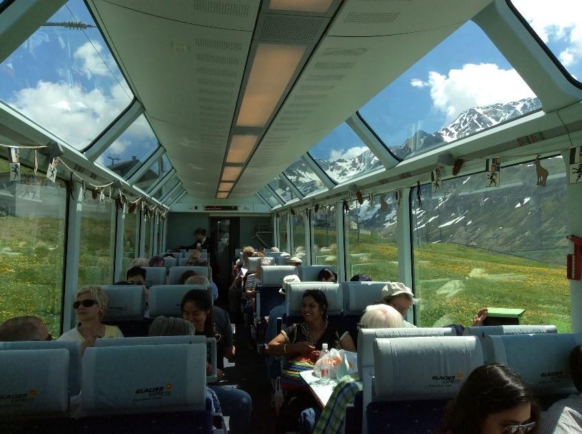 2015游记(4)环游瑞士 - 马特洪峰与冰川列车_图1-33