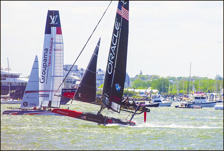 【star8拍攝】美洲杯帆船赛(America's Cup)_图1-9