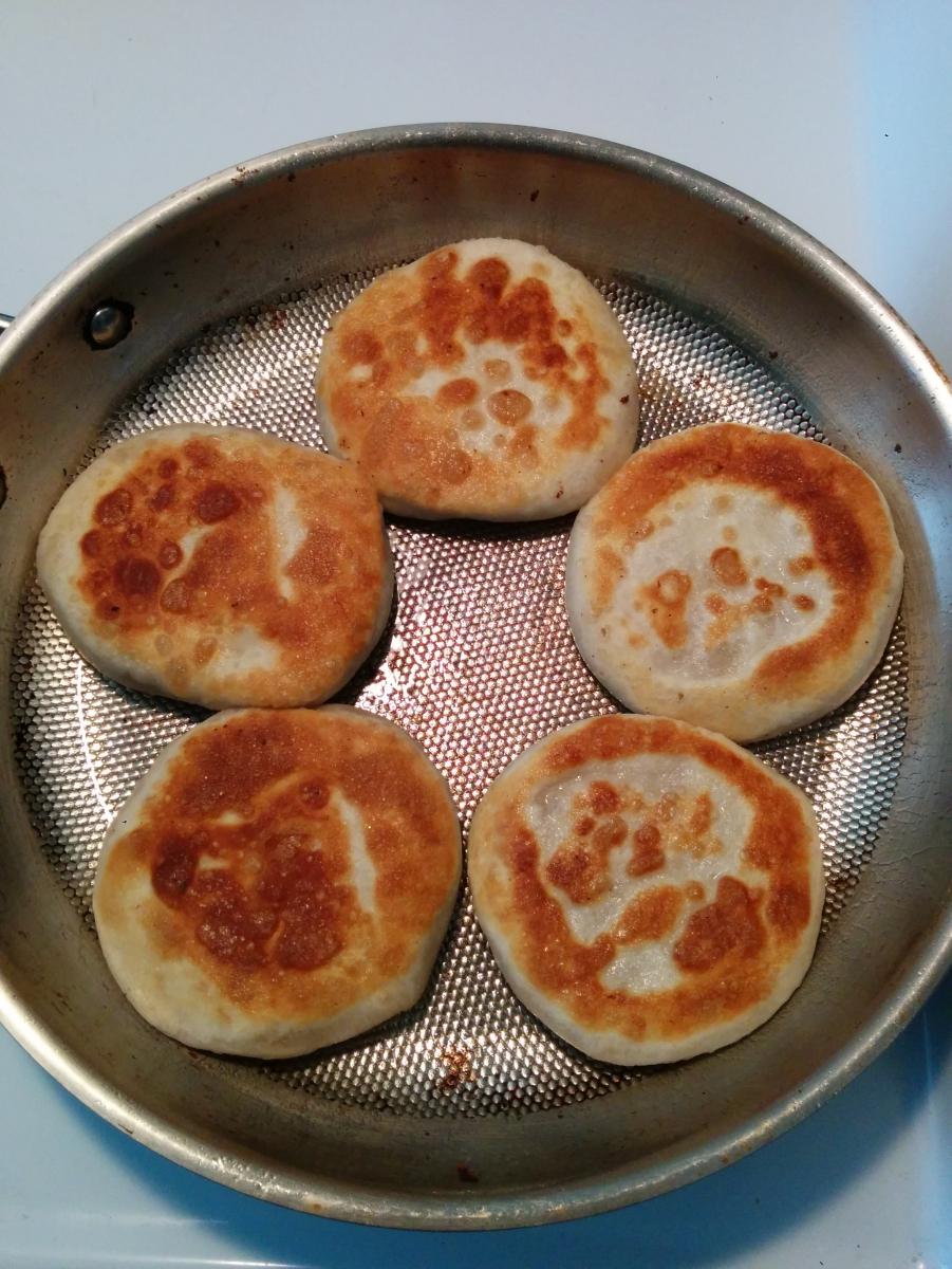 花生核桃红糖饼_图1-9