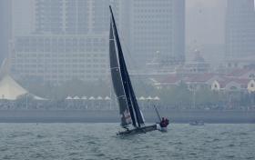 2016国际极限帆船赛青岛站掠影