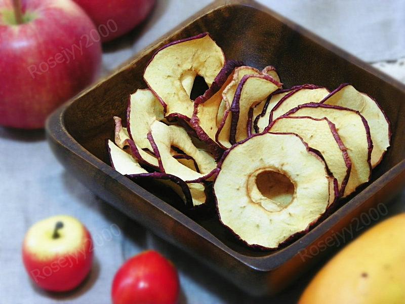 烘苹果圈(健康零食)_图1-1