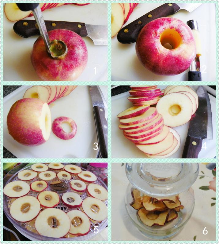 烘苹果圈(健康零食)_图1-3