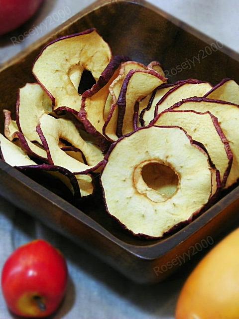 烘苹果圈(健康零食)_图1-4