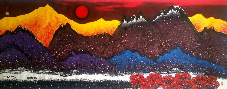 香巴拉的红月亮_图1-4