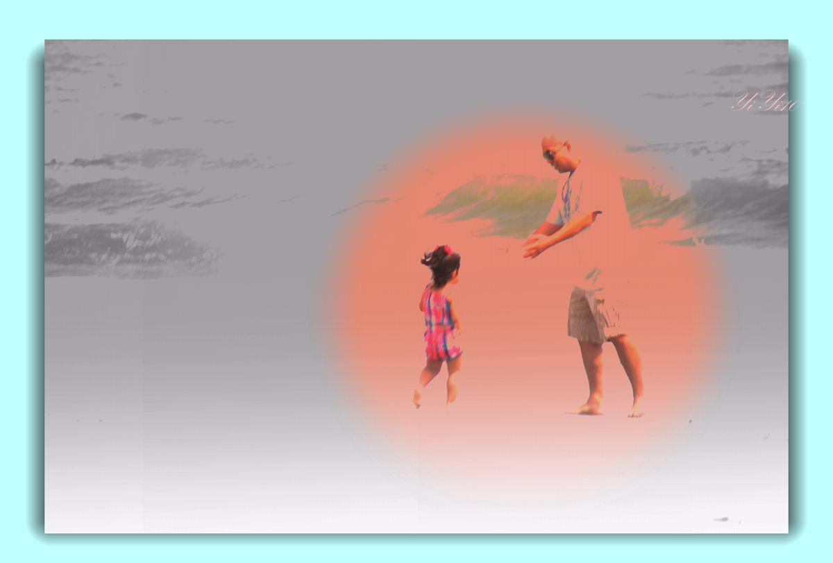【原创】海边的人们(摄影)_图1-2