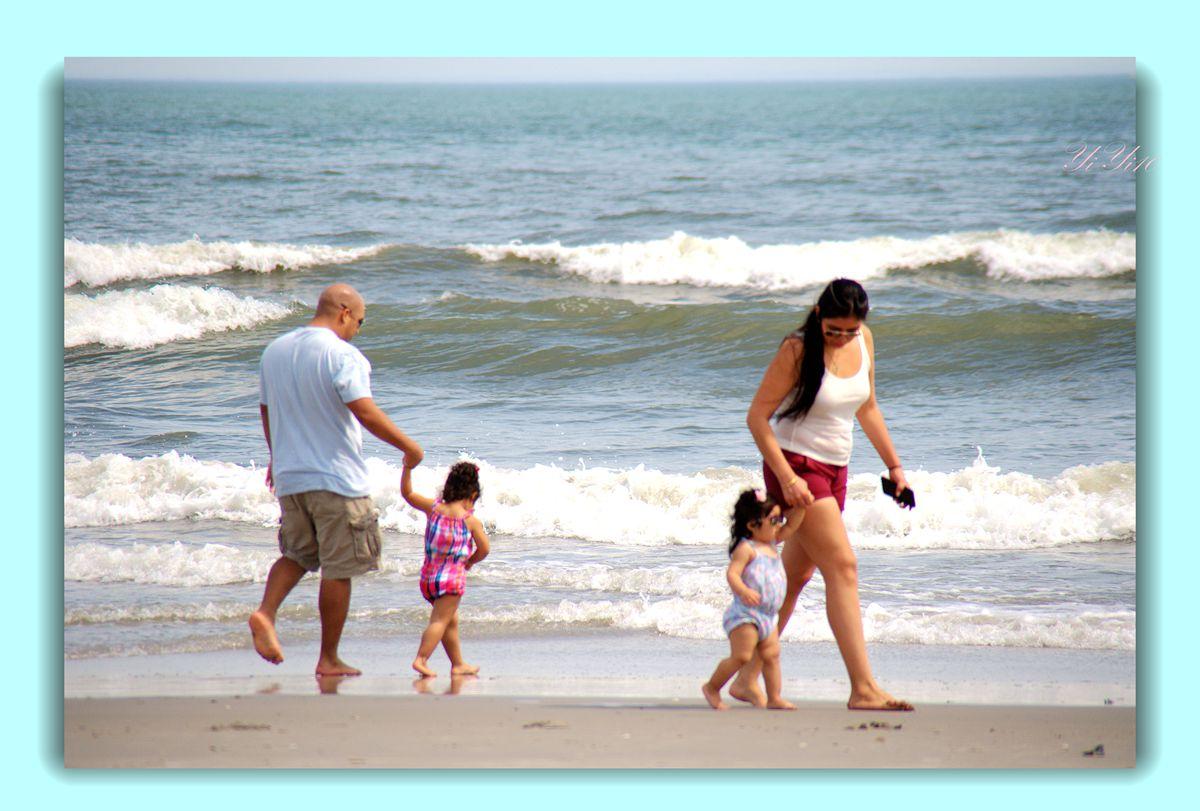 【原创】海边的人们(摄影)_图1-5
