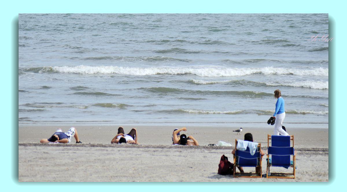 【原创】海边的人们(摄影)_图1-11