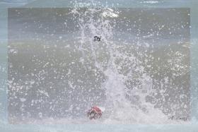John Beach 海滩施救       【一片叶】