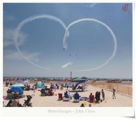 【风】纽约琼斯海滩飞行表演