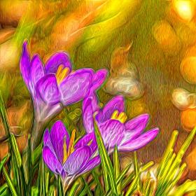 【自由鸟】春天的信使, 影画#4