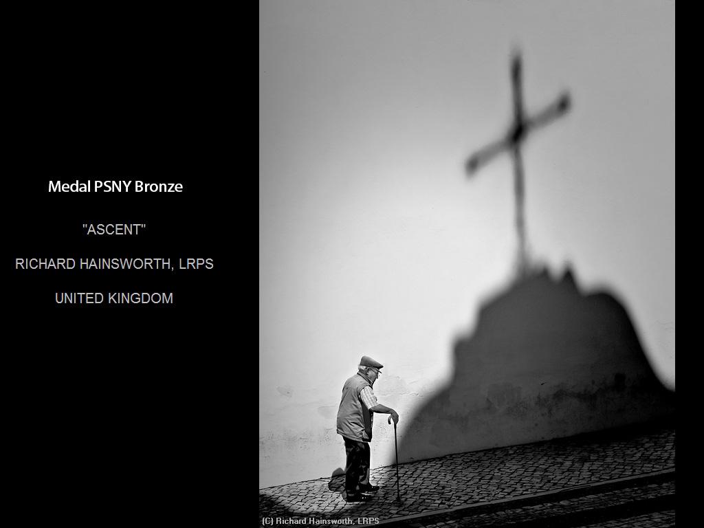 纽约摄影学会2015年国际沙龙比赛单色部分获奖作品_图1-5