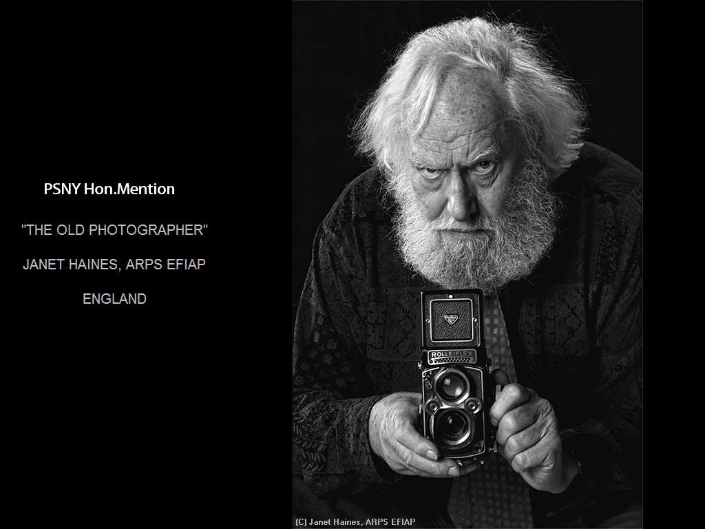 纽约摄影学会2015年国际沙龙比赛单色部分获奖作品_图1-16