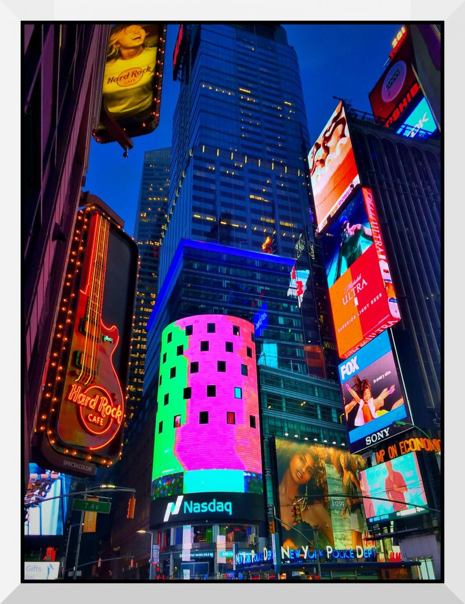 【盲流摄影】曼哈顿42街时报广场(手机扫街)_图1-16