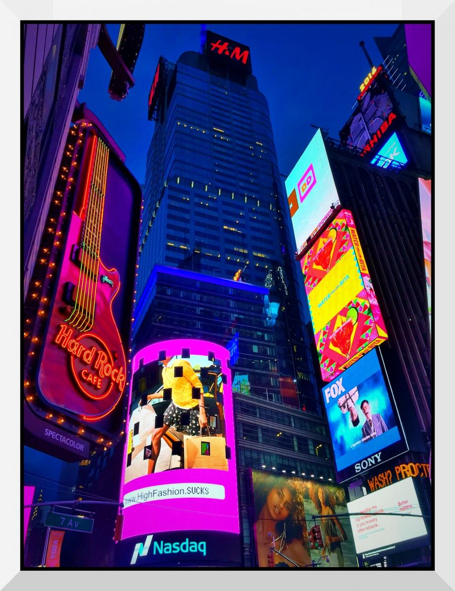 【盲流摄影】曼哈顿42街时报广场(手机扫街)_图1-15