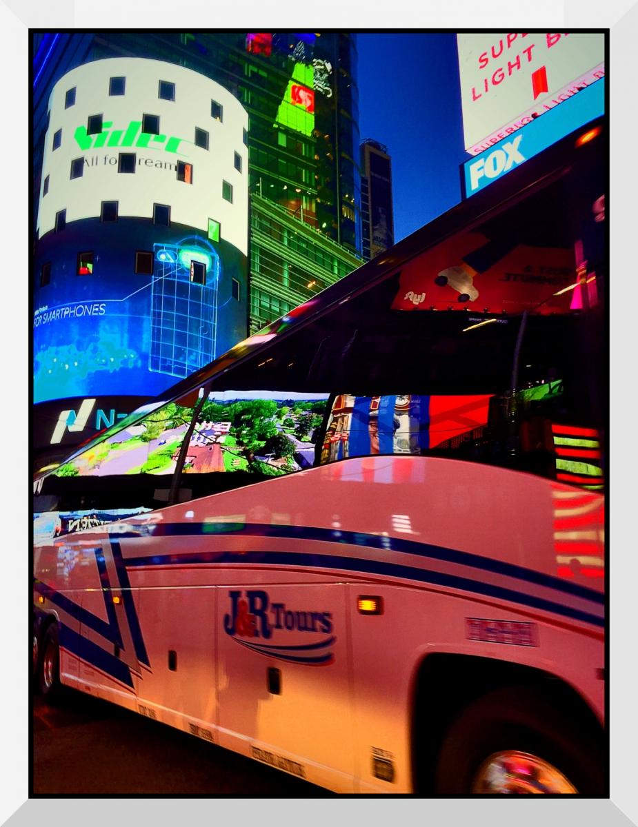 【盲流摄影】曼哈顿42街时报广场(手机扫街)_图1-18