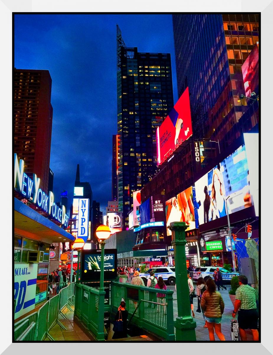【盲流摄影】曼哈顿42街时报广场(手机扫街)_图1-20