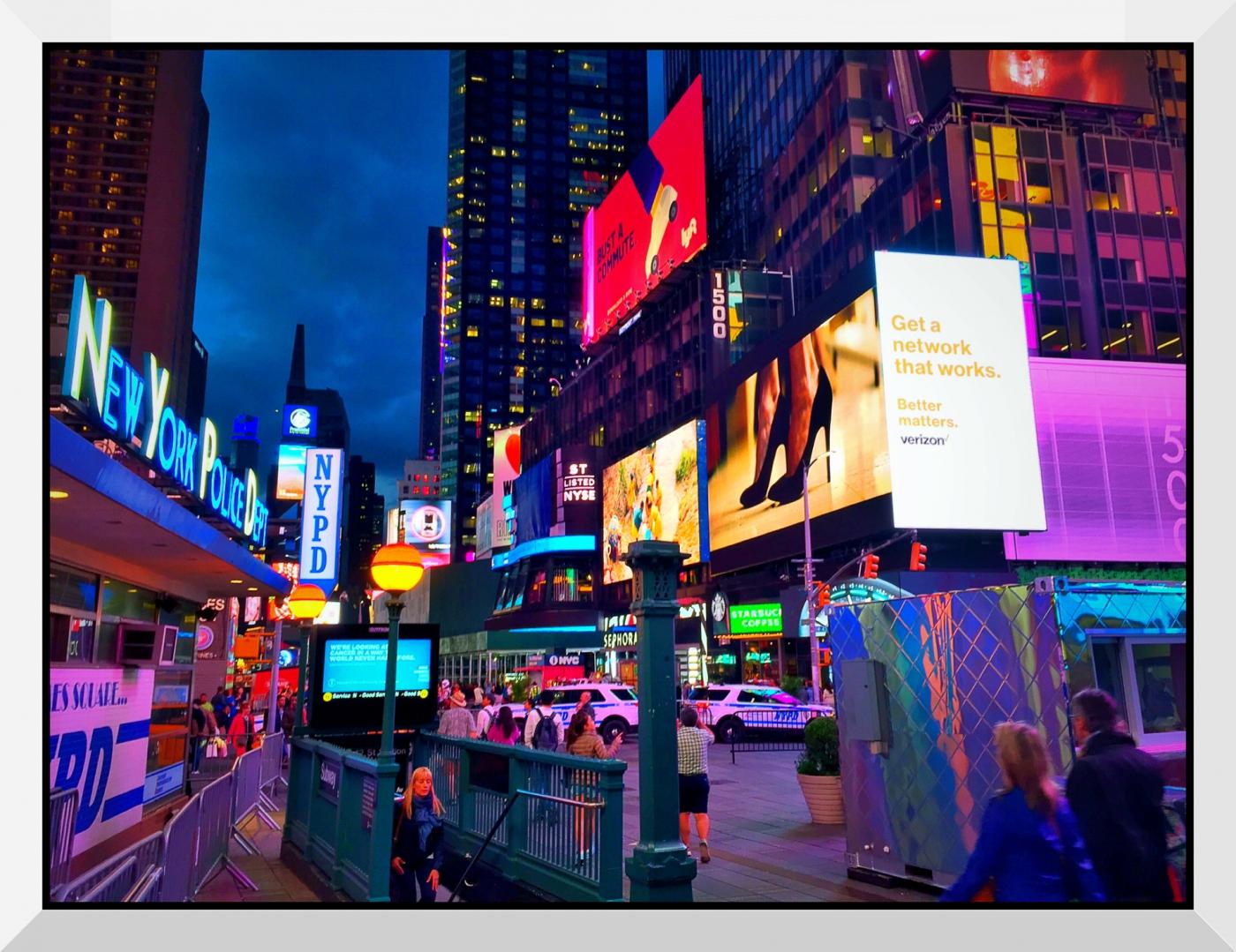 【盲流摄影】曼哈顿42街时报广场(手机扫街)_图1-21