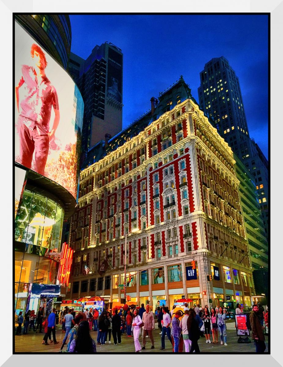 【盲流摄影】曼哈顿42街时报广场(手机扫街)_图1-22