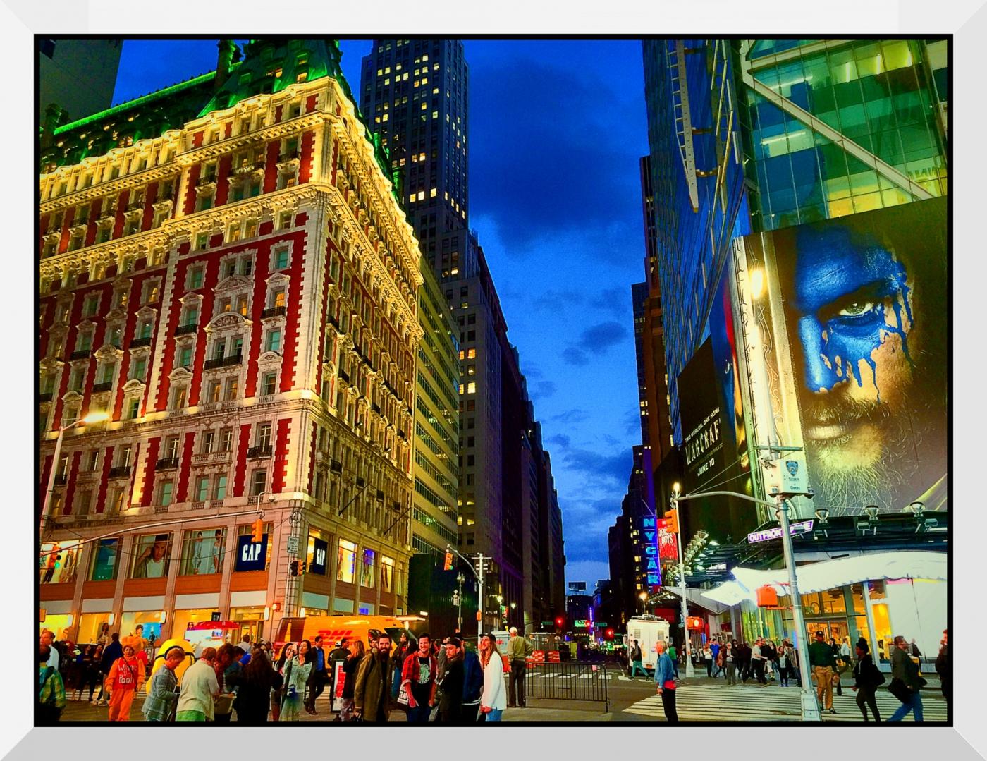 【盲流摄影】曼哈顿42街时报广场(手机扫街)_图1-23
