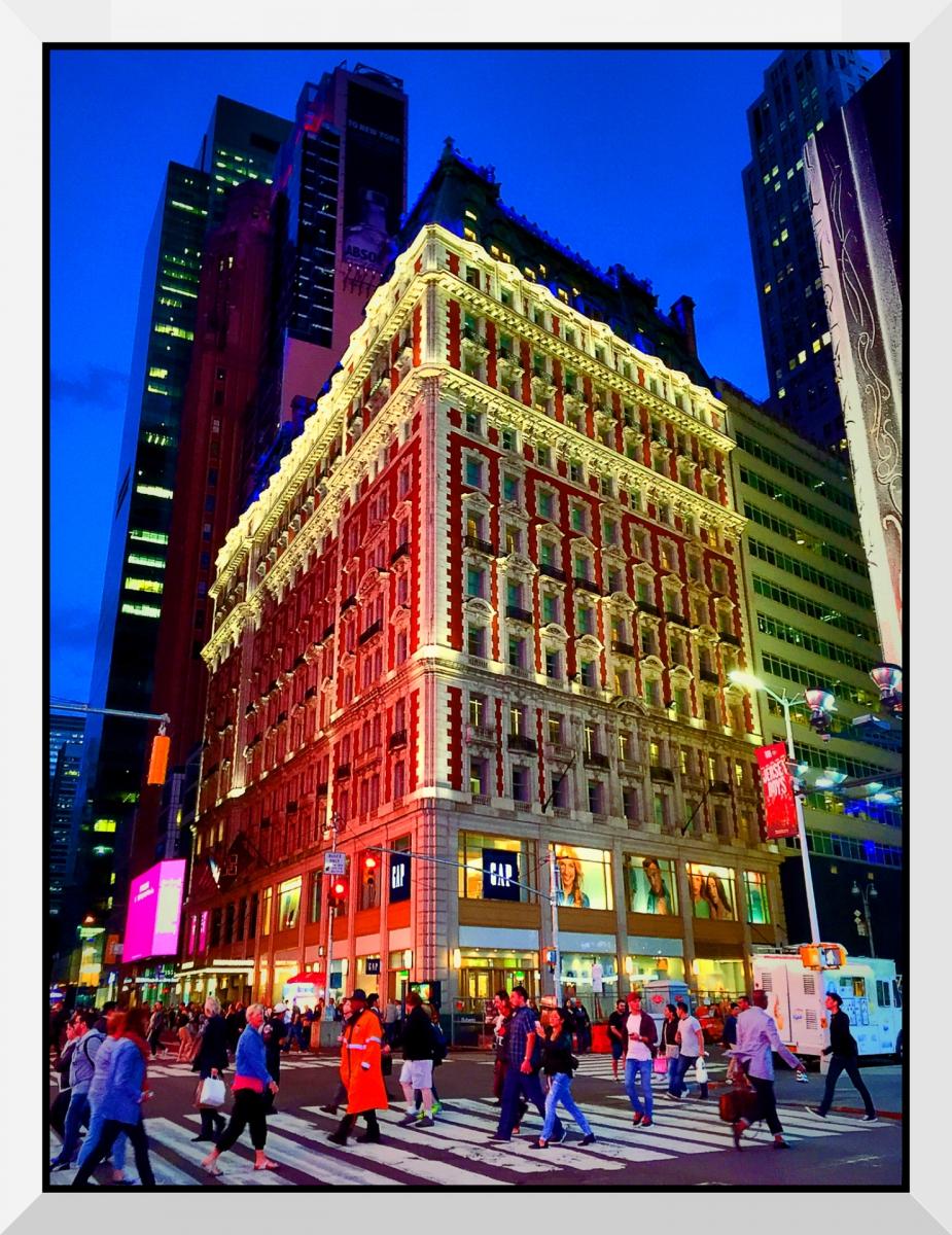【盲流摄影】曼哈顿42街时报广场(手机扫街)_图1-24