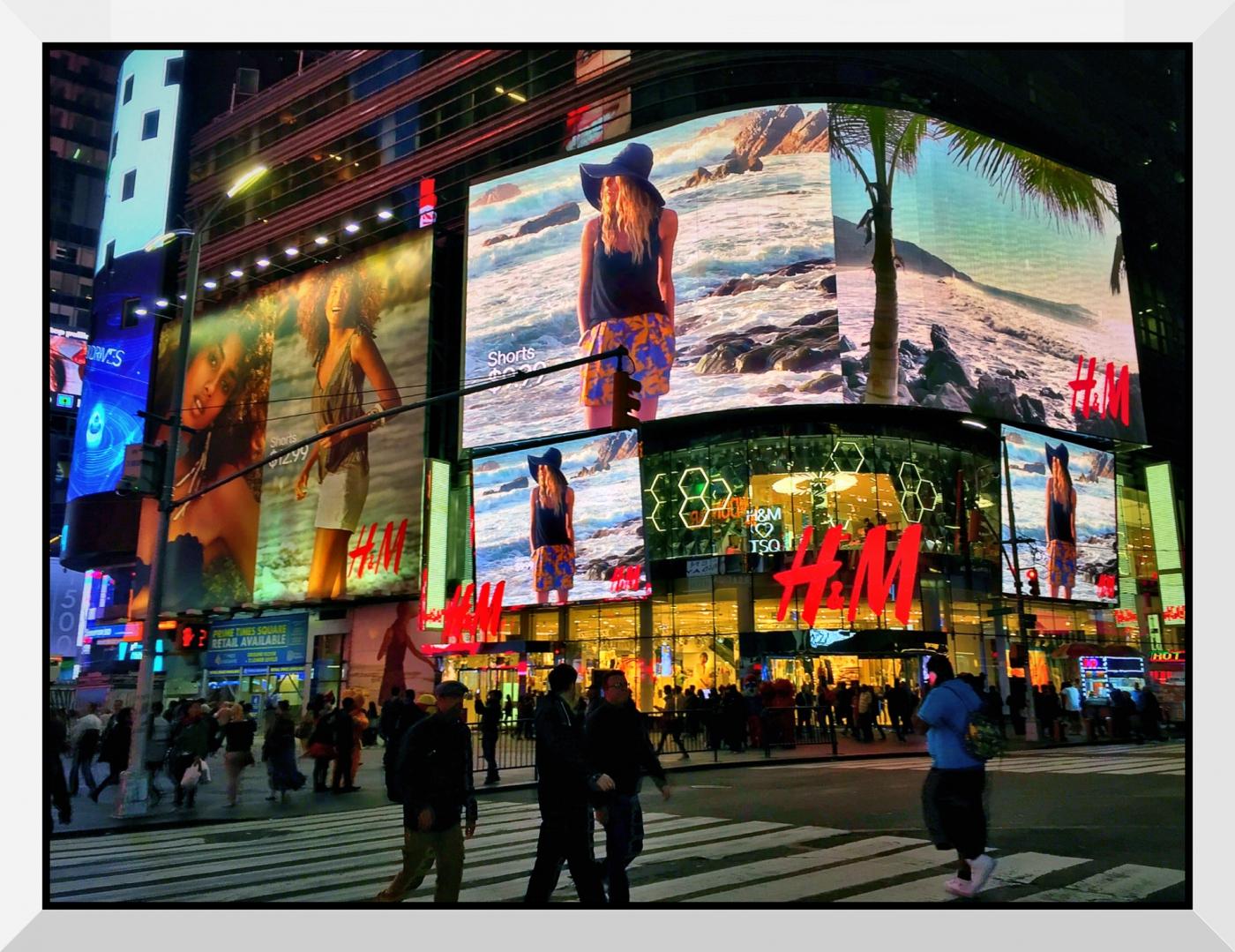 【盲流摄影】曼哈顿42街时报广场(手机扫街)_图1-26