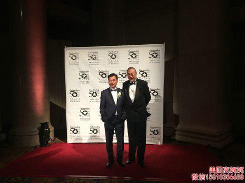 """美国""""50杰出亚裔企业家""""颁奖典礼 22位华裔获奖_图1-5"""