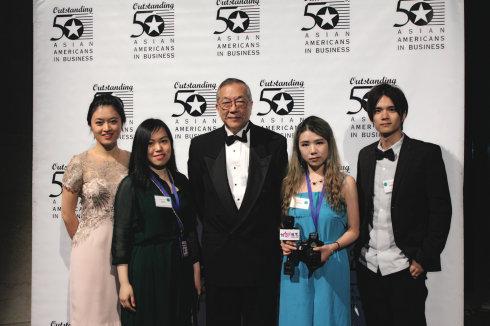 """美国""""50杰出亚裔企业家""""颁奖典礼 22位华裔获奖_图1-7"""