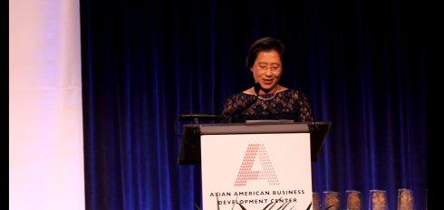 """美国""""50杰出亚裔企业家""""颁奖典礼 22位华裔获奖_图1-6"""