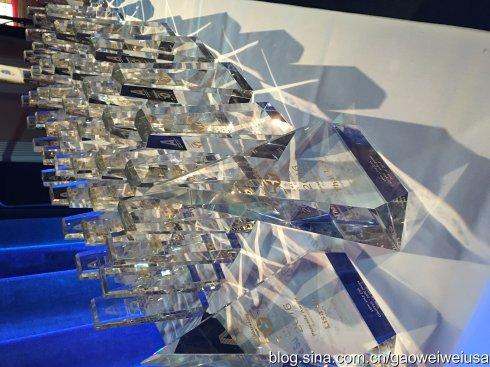 """美国""""50杰出亚裔企业家""""颁奖典礼 22位华裔获奖_图1-8"""