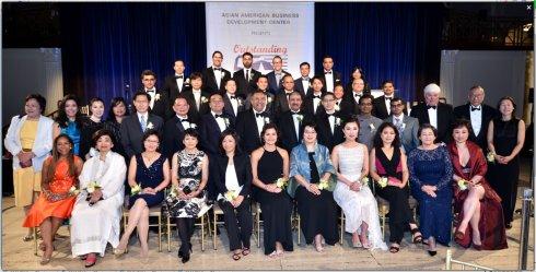 """美国""""50杰出亚裔企业家""""颁奖典礼 22位华裔获奖_图1-11"""