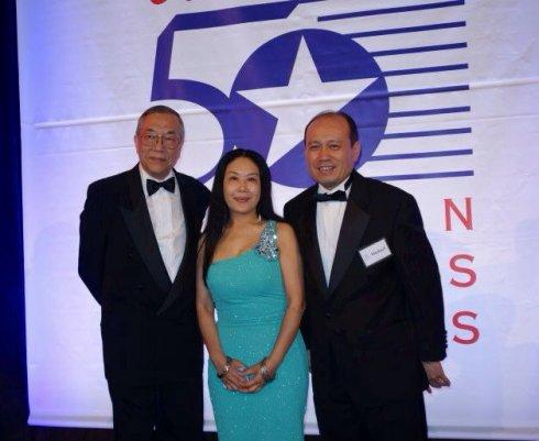 """美国""""50杰出亚裔企业家""""颁奖典礼 22位华裔获奖_图1-13"""
