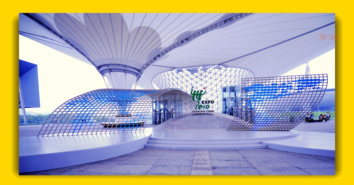 【原创】再现上海世博会世博轴(摄影)_图1-13