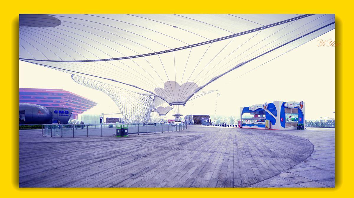 【原创】再现上海世博会世博轴(摄影)_图1-12
