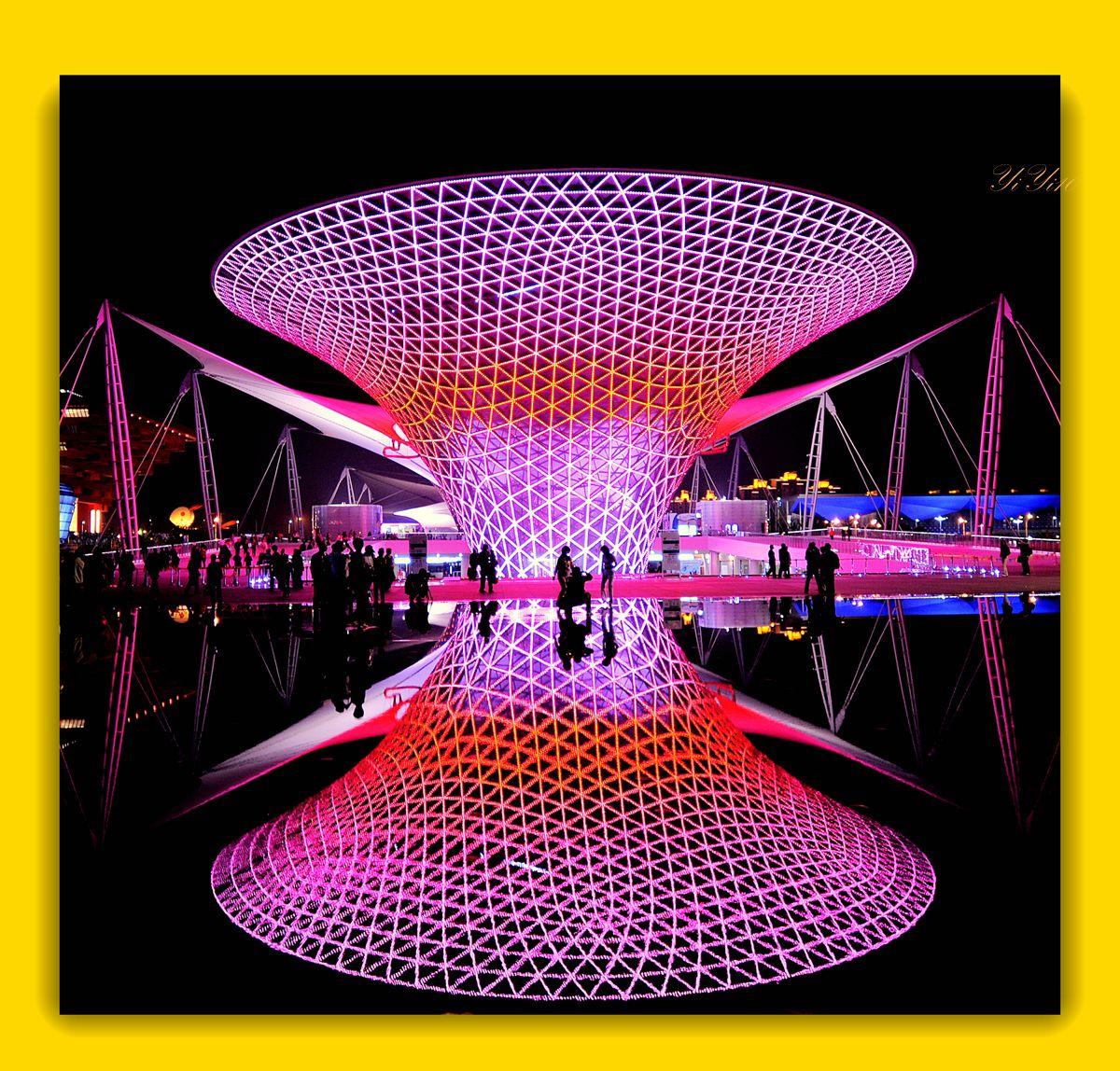 【原创】再现上海世博会世博轴(摄影)_图1-1