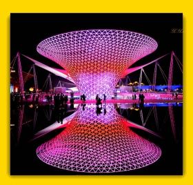 【原创】再现上海世博会世博轴(摄影)