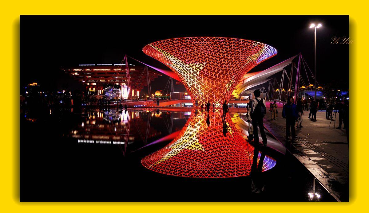 【原创】再现上海世博会世博轴(摄影)_图1-3