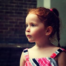 镜头前的小公主