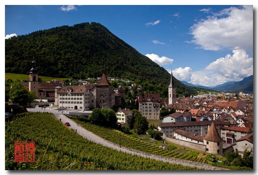 《酒一船摄影》:瑞士的千年古镇:库尔(Chur)_图1-1