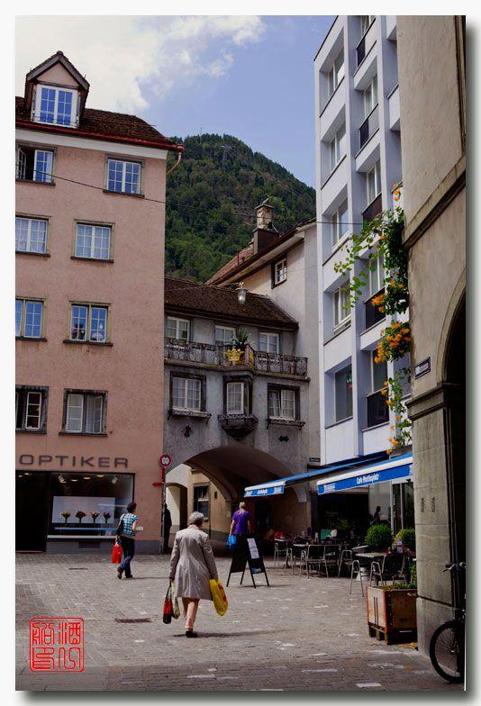 《酒一船摄影》:瑞士的千年古镇:库尔(Chur)_图1-3
