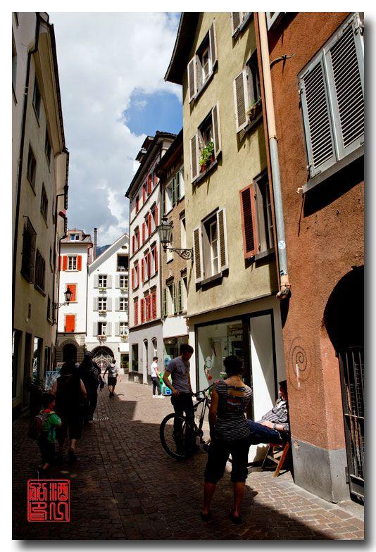 《酒一船摄影》:瑞士的千年古镇:库尔(Chur)_图1-2