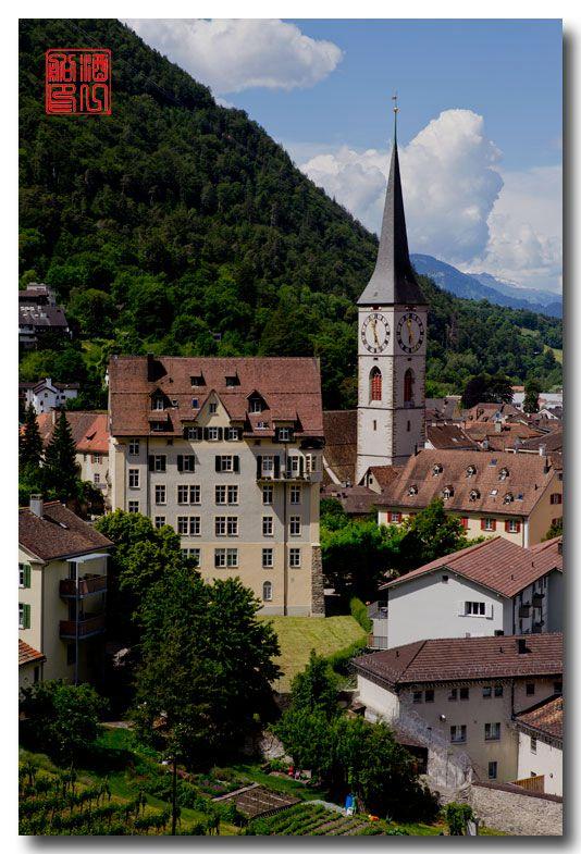 《酒一船摄影》:瑞士的千年古镇:库尔(Chur)_图1-41