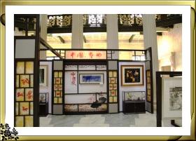 常州刺绣,刻纸,书法等作品7月12-14在曼哈