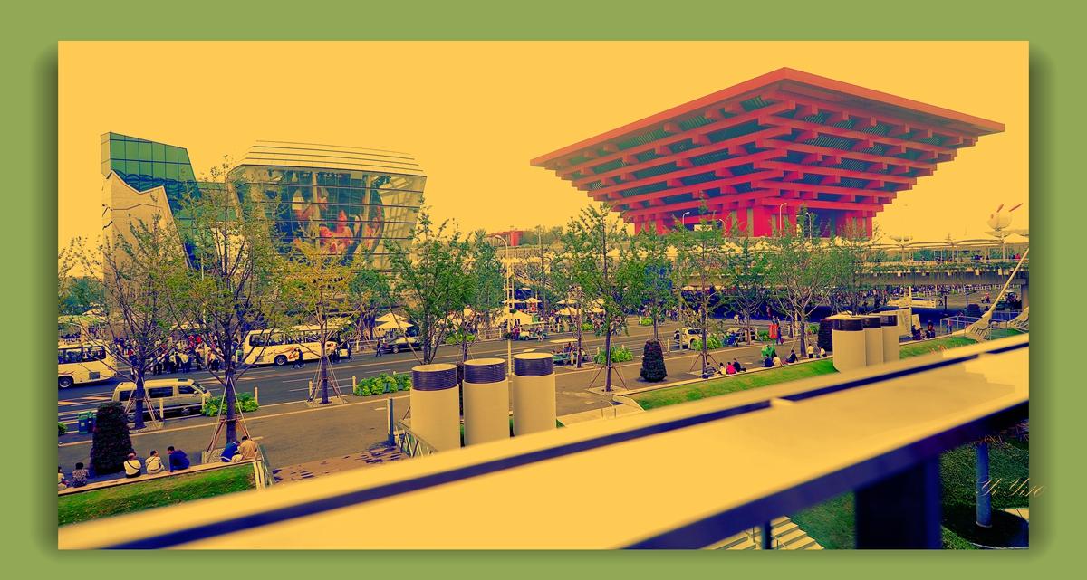 【原创】在上海世博会的各个角度看中国馆(摄影)_图1-3