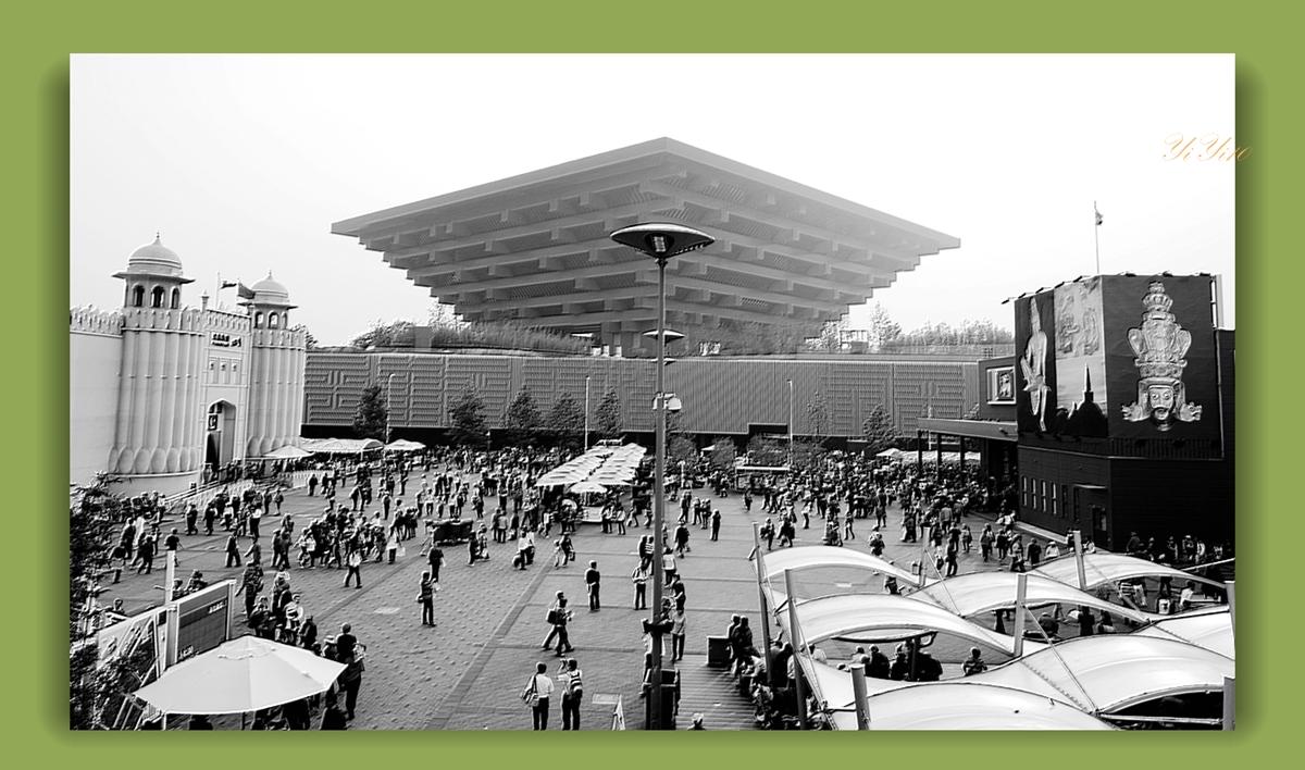 【原创】在上海世博会的各个角度看中国馆(摄影)_图1-6