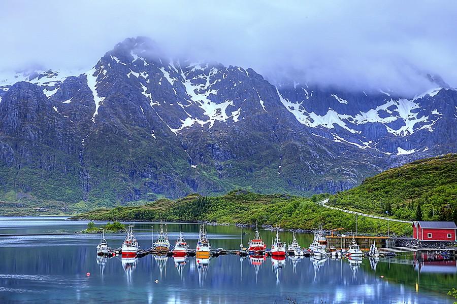 探訪 挪威 罗弗敦群岛_图1-2