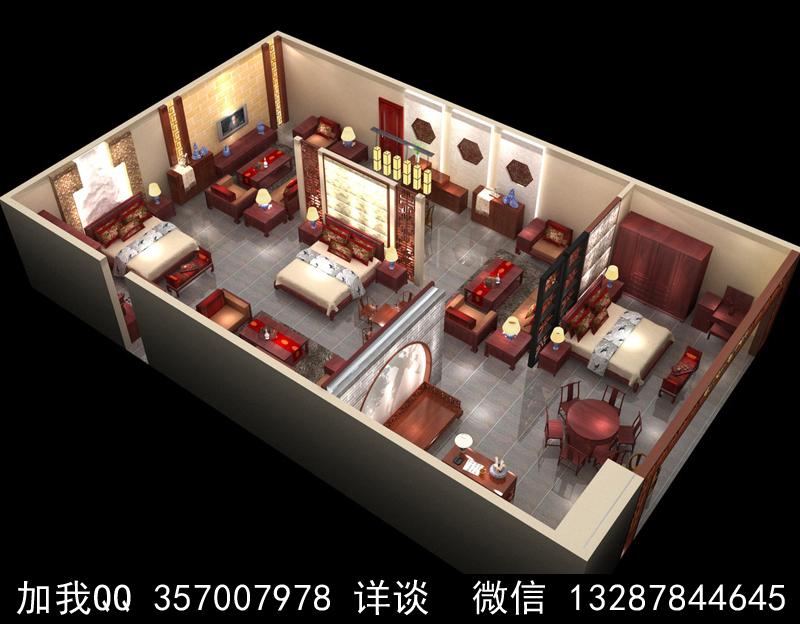 家具展厅设计案例效果图_图1-16