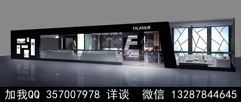 家具展厅设计案例效果图_图1-15